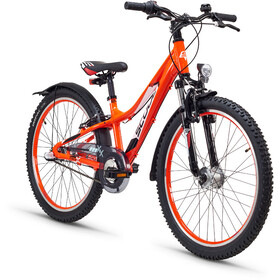 s'cool troX urban 24 3-S Juniorcykel Barn orange